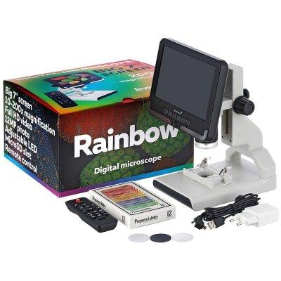 Микроскоп цифровой с ЖК- экраном Levenhuk (Левенгук) Rainbow DM700 LCD
