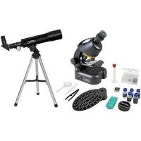 Набор Bresser (Брессер) National Geographic: телескоп 50/360 AZ и микроскоп 40–640x