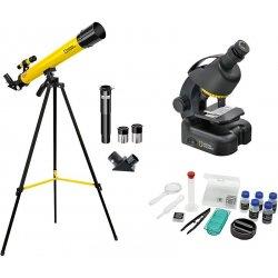Набор детский телескоп 50/600 AZ и микроскоп 40–460x Bresser (Брессер) National Geographic