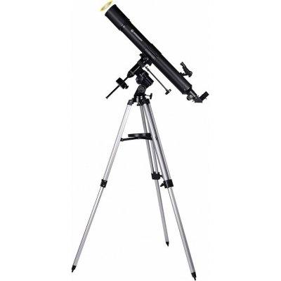 Телескоп рефрактор с адаптером для смартфона Bresser (Брессер) Quasar 80/900 EQ