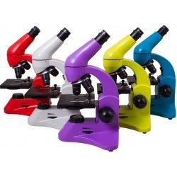 Биологический школьный микроскоп Levenhuk (Левенгук) Rainbow 50L PLUS