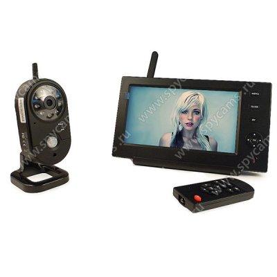 Беспроводной комплект видеонаблюдения на 1 внутреннюю камеру Home Автоном 8204
