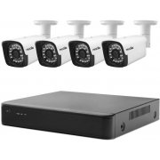 Проводной AHD комплект видеонаблюдения на 4 камеры Proline KIT-H2184WS
