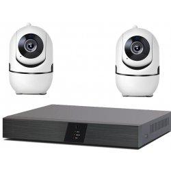 Беспроводной IP Wi-Fi комплект видеонаблюдения со звуком для помещений IVUE Офис PTZ