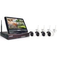 Цифровой Wi-Fi IP комплект видеонаблюдения для улицы на 4 камеры Kvadro Vision Optimus Street