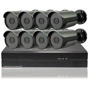 Цифровой IP POE комплект видеонаблюдения на 8 камер 5Mp со звуком Millenium 5048P