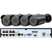 Цифровой IP POE комплект видеонаблюдения 5Mp на 8 камер Millenium 5048P