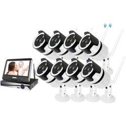 Цифровой wi-fi комплект видеонаблюдения с монитором на 8 камер Millenium LCD IP 8CH Audio