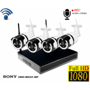 Системы видеонаблюдения Wi-Fi