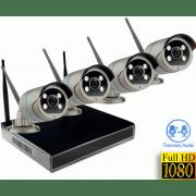 Цифровой Wi-Fi комплект видеонаблюдения на 4(8) камер со звуком Millenium LS48NVR8