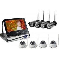 Цифровой Wi-Fi IP комплект видеонаблюдения Okta Vision Optimus 4х4