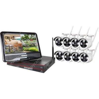 Цифровой Wi-Fi комплект видеонаблюдения на 8 камер OktaVision Оптимус Стрит