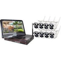 Цифровой Wi-Fi комплект видеонаблюдения на 8 камер Okta Vision Optimus Street