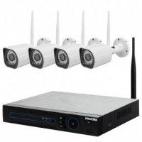 Цифровой комплект видеонаблюдения со встроенным Wi-Fi роутером Proline KIT-IP6004W