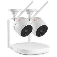Беспроводной IP комплект видеонаблюдения на 2 камеры Twin Office IP DVR
