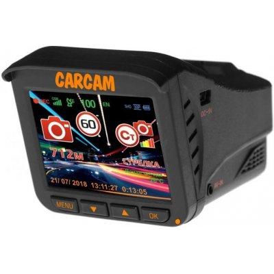 Автомобильный гибридный видеорегистратор с радар-детектором Каркам Комбо 5
