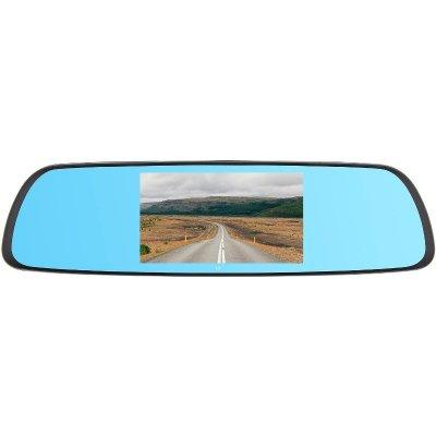 Автомобильный видеорегистратор в зеркале с выносной камерой Dunobil Spiegel Eva Touch