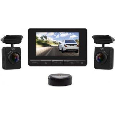 Автомобильный видеорегистратор с двумя выносными камерами Gazer F750W