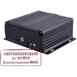 Стационарный автомобильный 8 канальный AHD видеорегистратор на транспорт IVUE CVMR-2108