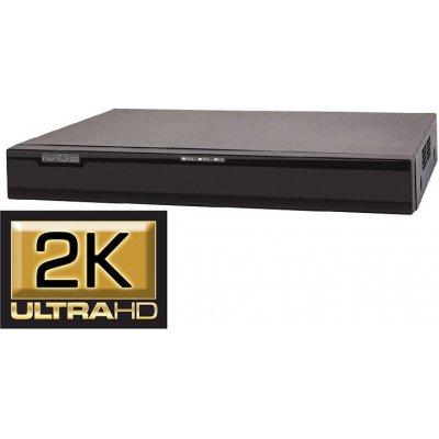 Сетевой NVR 2K видеорегистратор для IP камер с POE питанием IVUE NVR-882K25-Н2