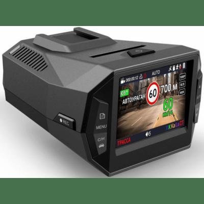 Автомобильный видеорегистратор с радар-детектором Playme P600SG