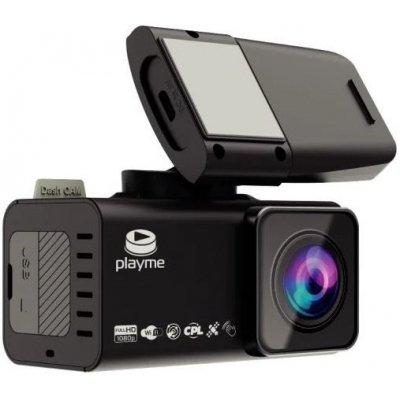 Автомобильный видеорегистратор с GPS и Wi-fi модулями PlayMe TIO S