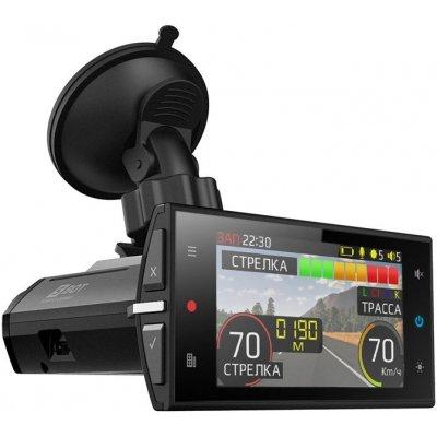 Автомобильный видеорегистратор с радар-детектором SilverStone F1 HYBRID S-BOT