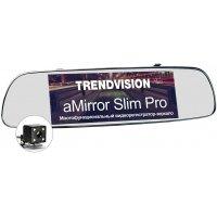 Автомобильный видеорегистратор с навигатором в зеркале TrendVision aMirror Slim Pro