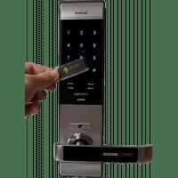 Врезной электронный кодовый замок на дверь EverNet GX910