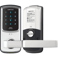 Врезной электронный кодовый замок на дверь EverNet Zens