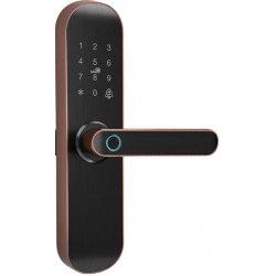 Врезной электронный кодовый замок на дверь Millenium Lock 454