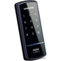 Накладной электрический кодовый дверной замок Samsung SHS-1321 XAK/EN