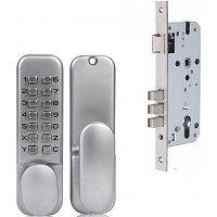 Врезной механический дверной кодовый замок Selock Code OS2715