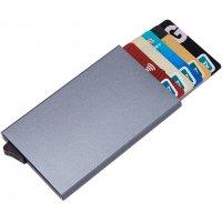 Экранирующий бокс (чехол) для защиты банковских карт Nano Card Metal