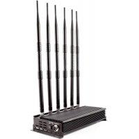 Стационарный подавитель частот GSM 3G и 4G повышенной мощности Аллигатор 100