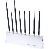 Стационарный мультиформатный подавитель GSM и Wi-Fi Аллигатор 30 + 4G LTE + Рации