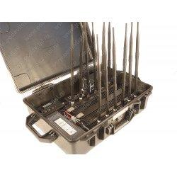 Мощный мультичастотный подавитель беспроводных частот Терминатор 150 Кейс-1