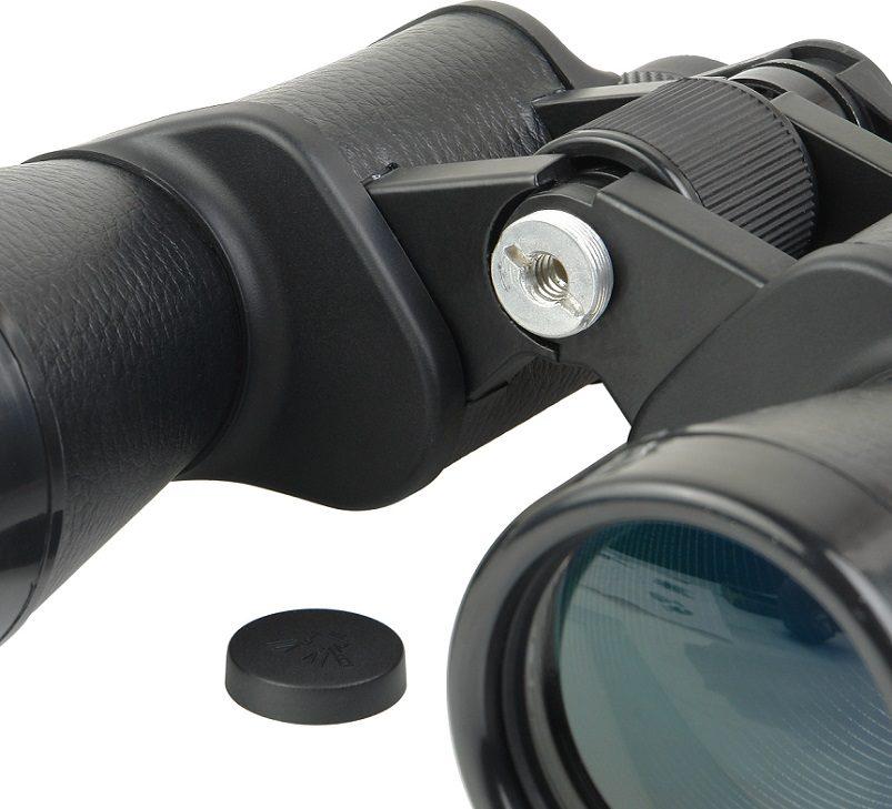 Бинокль Veber (Вебер) Classic БПЦ 20x50 VL черный, кожа