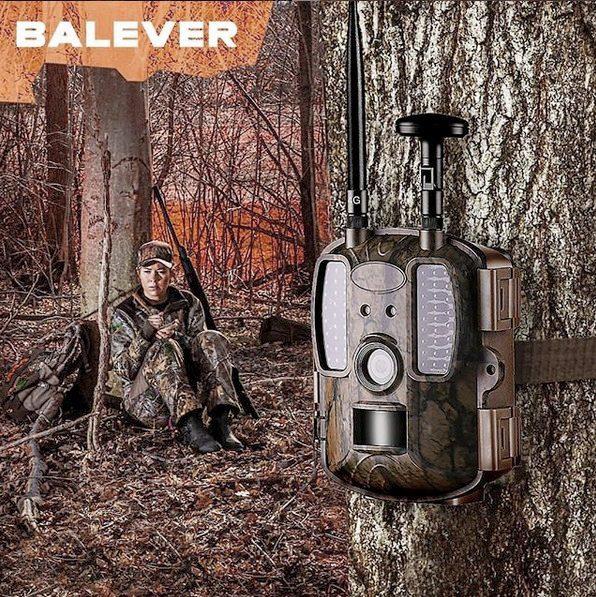Фотоловушка 4G и MMS для охоты и охраны Balever BL480L-P