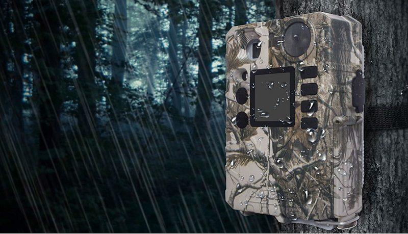 Фотоловушка для охоты и охраны с записью по датчику движения Boly Guard BG310 18MP