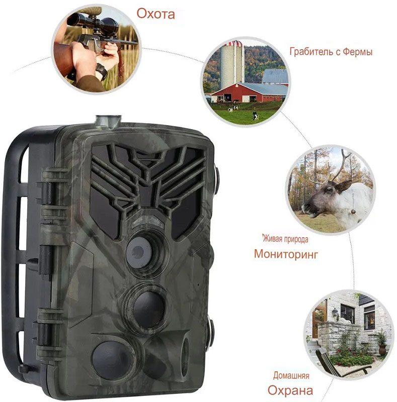 Фотоловушка 20Mp для охоты и охраны Филин 810А (Suntek HC-810А)