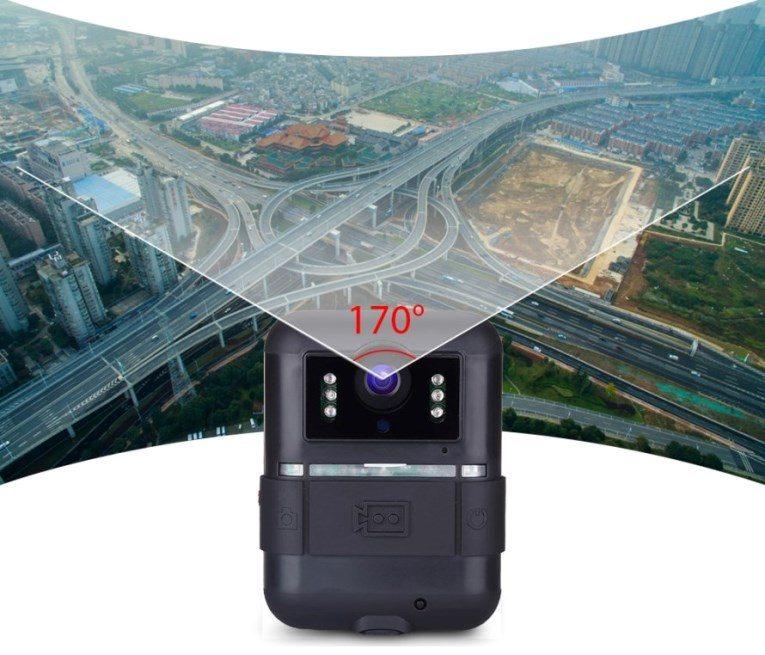 Носимый (персональный) нагрудный мини видеорегистратор VIZOR-1