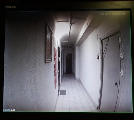 Дверной проводной аналоговый AHD видеоглазок MiCam SMT-323