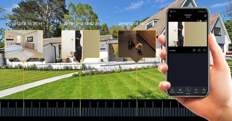 Уличная автономная IP Wi-Fi камера с микрофоном и динамиком MiCam Li0313