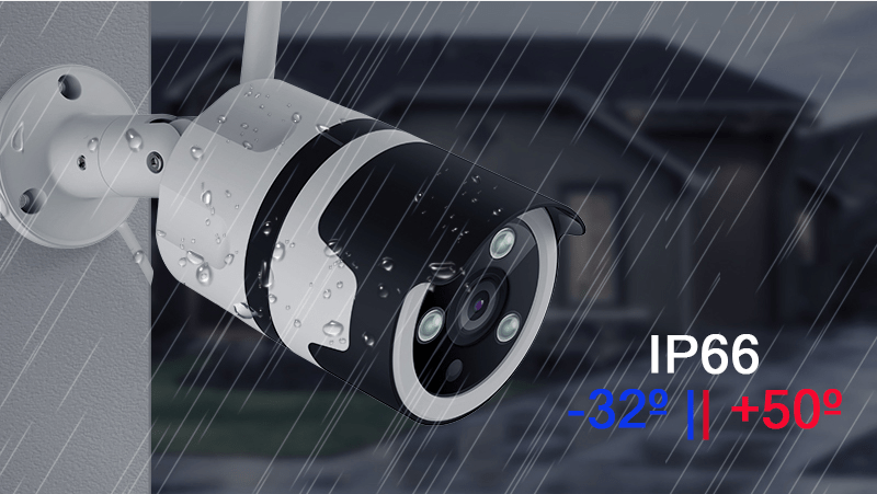 Уличная IP Wi-Fi камера 1080p со звуком Millenium VT2Wmic