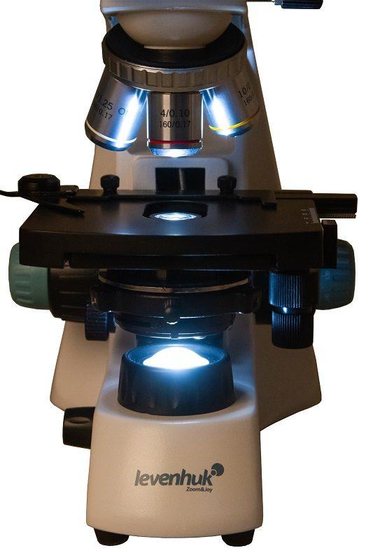 Биологический лабораторный микроскоп Levenhuk (Левенгук) 400 серии M,B и T