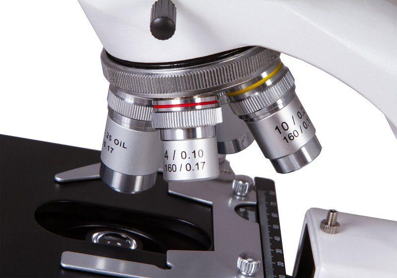 Монокулярный лабораторный биологический микроскоп Levenhuk (Левенгук) MED 10M