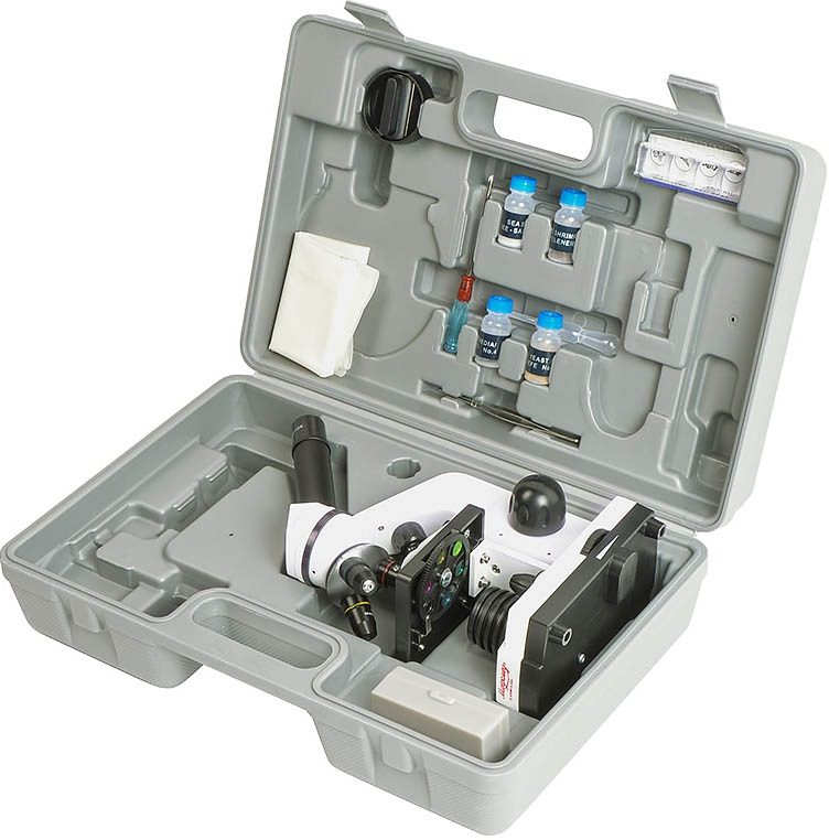Учебный микроскоп Микромед Атом 40x-800x в кейсе