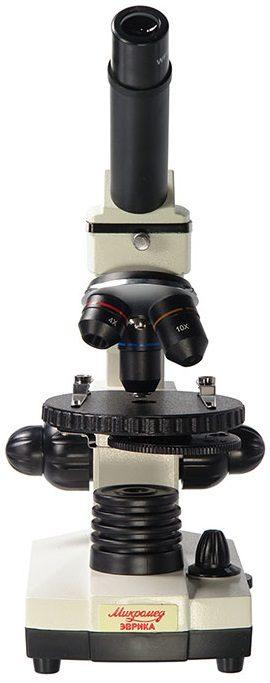 Микроскоп школьный Микромед Эврика 40х-1280х в текстильном кейсе