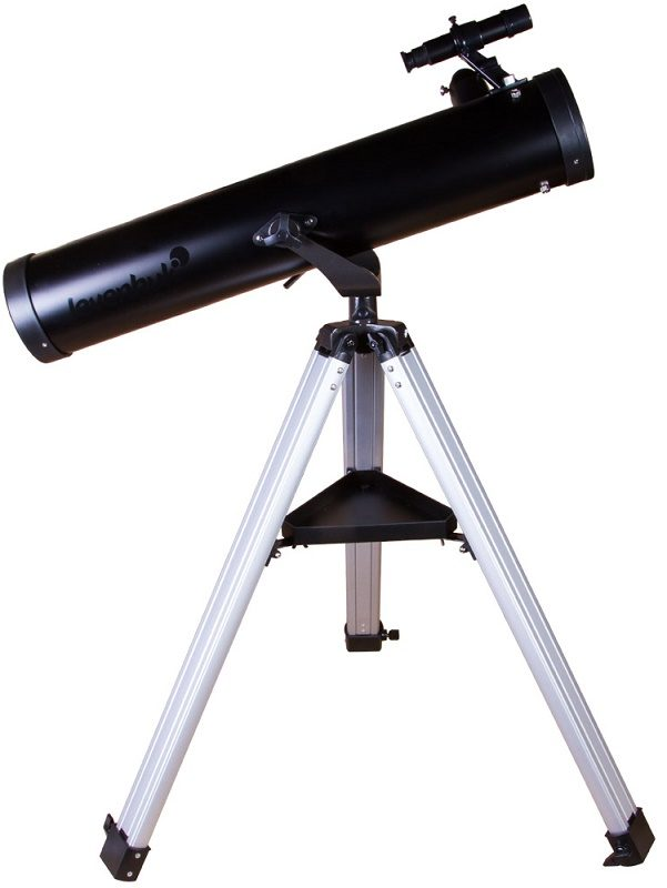Телескоп рефлектор Ньютона на азимутальной монтировке Levenhuk (Левенгук) Skyline BASE 100S
